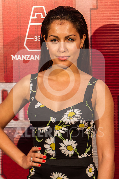 Hiba Abouk during the inauguration of Manzana Mahou 330 space. 22,06,2016. (ALTERPHOTOS/Rodrigo Jimenez)