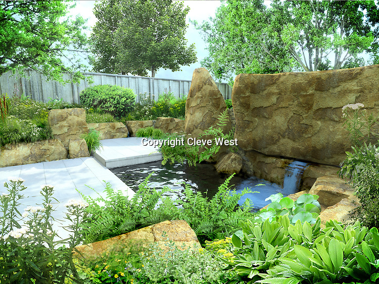 The M&G Garden by designer Cleve West