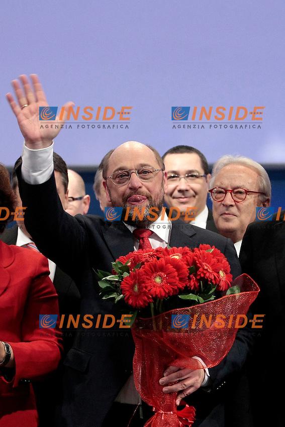 Martin Schulz<br /> Roma 01-03-2014 Palazzp dei Congressi. Congresso elettivo del Partito Socialista Europeo, PSE.<br /> PES Election Congress 2014.<br /> Photo Samantha Zucchi Insidefoto