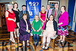 At the 50 year celebration diner of Sr. Consilio and Cuan Mhuire  at the Meadowland Hotel on Thursday were Front l-r Brid Clifford, Betty Penny, Jenny Duke, Back l-r Mary Fitzgibbon,  Gerardina Harnett, Michael Healy-Rae, TD, Catherine McKenna, Ray Kinsella, Oliver Murphy and Margery Fitzpatrick