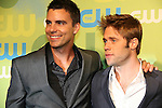 Colin Egglesfield & Shaun Sipos at the CW Upfront 2009 on May 21, 2009 at Madison Square Gardens, New York NY. (Photo by Sue Coflin/Max Photos)