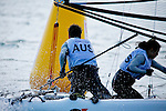 Australia	Sirena SL16	Open	Crew	AUSSR29	Sophie	Renouf<br /> Australia	Sirena SL16	Open	Helm	AUSSC40	Shaun	Connor<br /> Day4, 2015 Youth Sailing World Championships,<br /> Langkawi, Malaysia