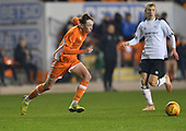 04/12/2018 FA Youth Cup 3rd Round Blackpool v Derby County<br /> <br /> Nathan Shaw