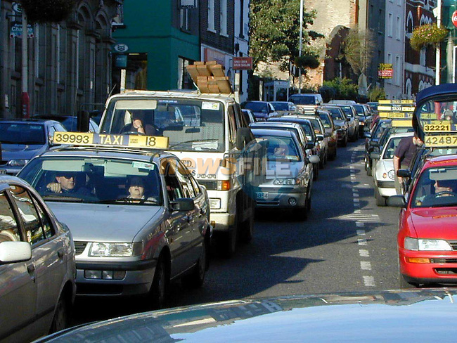 Traffic congestion on Laurances Street.Picture: Paul Mohan/Newsfile