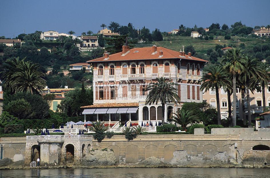 France/06/Alpes-Maritimes/Beaulieu sur mer: La résidence Eiffel