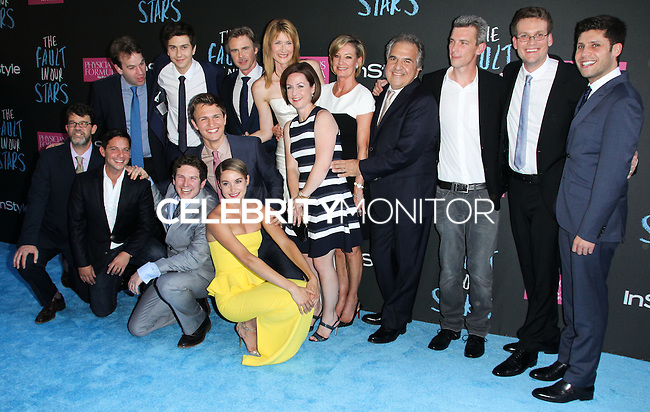 NEW YORK CITY, NY, USA - JUNE 02: Cast at the New York Premiere Of 'The Fault In Our Stars' held at Ziegfeld Theatre on June 2, 2014 in New York City, New York, United States. (Photo by Jeffery Duran/Celebrity Monitor)