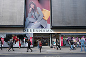 Debenhams store, Oxford Street, London.