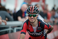 Samuel Sanchez (ESP/BMC) crossing the finish line<br /> <br /> Amstel Gold Race 2014