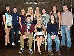 Shauna Synnott celebrating her 21st birthday in The Venue at McHugh's with all her cousins. Photo:Colin Bell/pressphotos.ie