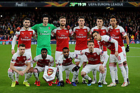 Arsenal FC Team Photo during Arsenal vs Rennes, UEFA Europa League Football at the Emirates Stadium on 14th March 2019