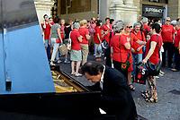 Padova, 7 Luglio 2018<br /> &ldquo;Una maglietta rossa per fermare l&rsquo;emorragia di umanit&agrave;&rdquo;<br /> Iniziativa in tutta Italia promossa da Libera per ricordare i tanti bambini migranti morti in mare e, in generale, di chi ha perso la vita nelle traversate