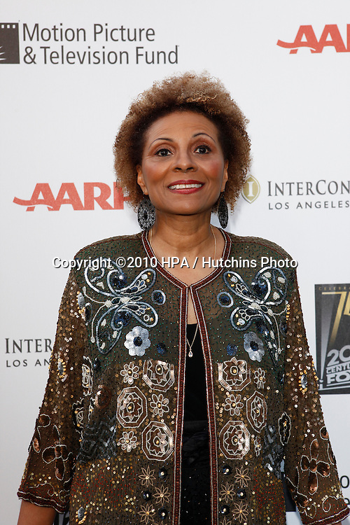 "Leslie Uggams.arrives at ""A Fine Romance"" -  2010.Sony Pictures Studios.Culver City, CA.May 1, 2010.©2010 HPA / Hutchins Photo..."