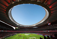 Wanda Metropolitano stadium top view