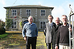 Barry Brennan and Eugene Conlon, Dunleer Community Development Board with Parish Priest, Fr. Michael Murtagh and Manager of Dunleer Credit Union, Thomas Fitzpatrick at Dunleer Parochial House....Photo NEWSFILE/Jenny Matthews.(Photo credit should read Jenny Matthews/NEWSFILE)....This Picture has been sent you under the condtions enclosed by:.Newsfile Ltd..The Studio,.Millmount Abbey,.Drogheda,.Co Meath..Ireland..Tel: +353(0)41-9871240.Fax: +353(0)41-9871260.GSM: +353(0)86-2500958.email: pictures@newsfile.ie.www.newsfile.ie.FTP: 193.120.102.198.