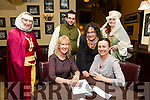 Enjoying the Tralee Medieval Group Table Quiz at the Imperial Hotel on Friday were Joan Prendergast, kersandra Earl, John McQue, Danielle Lawlor, Nora O'Malley , Caroline Stack
