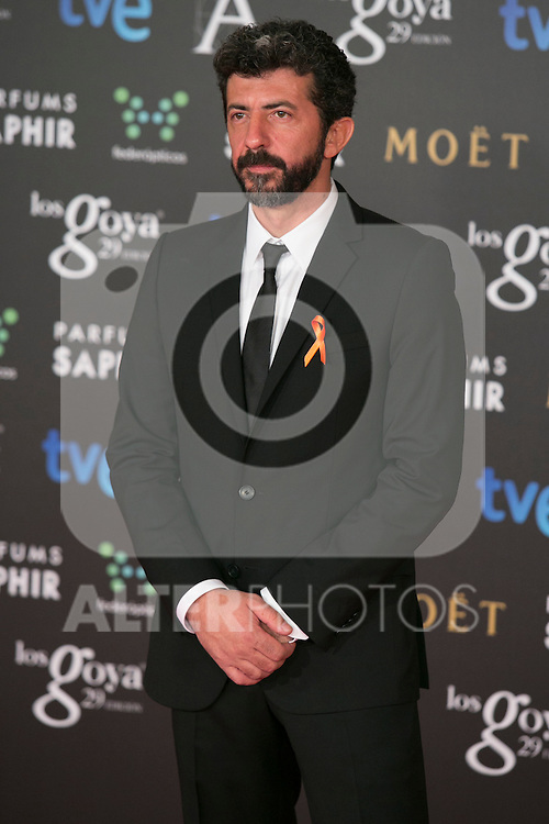 Alberto Rodriguez attend the 2015 Goya Awards at Auditorium Hotel, Madrid,  Spain. February 07, 2015.(ALTERPHOTOS/)Carlos Dafonte)