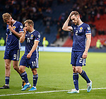 06.09.2019 Scotland v Russia, European Championship 2020 qualifying round, Hampden Park:<br /> Stephen O'Donnell dejection