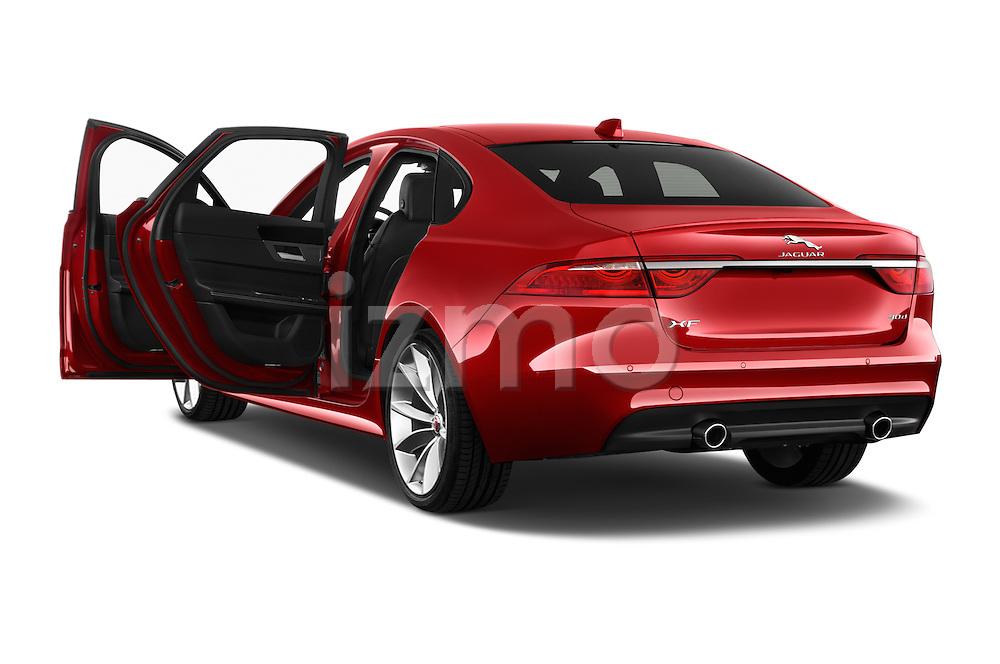 Car images of 2017 Jaguar XF 35t-R-Sport 4 Door Sedan Doors
