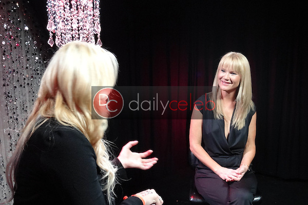 Jennifer Blanc-Biehn, Tara Buck<br /> on Set of SCARED STIFF with Jennifer Blanc-Biehn on theStream.tv , theStream.tv studios, Los Angeles, CA 10-01-13<br /> David Edwards/DailyCeleb.Com 818-249-4998