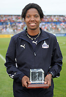 Remembering the 1999 World Cup team Briana Scurry.  The LA Sol defeated the Washington Freedom 1-0 at the Maryland Soccerplex, Sunday July 5, 2009.