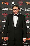 Dani de la Torre attends 30th Goya Awards red carpet in Madrid, Spain. February 06, 2016. (ALTERPHOTOS/Victor Blanco)