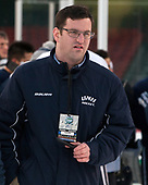 Alex Comeau (UNH - SID) - The University of New Hampshire Wildcats practiced at Fenway on Friday, January 13, 2017, in Boston, Massachusetts.
