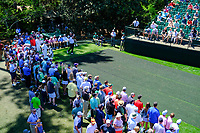 Shane Lowry (IRL) on the 16th tee during Wednesdays preview at the The Masters , Augusta National, Augusta, Georgia, USA. 10/04/2019.<br /> Picture Fran Caffrey / Golffile.ie<br /> <br /> All photo usage must carry mandatory copyright credit (&copy; Golffile | Fran Caffrey)