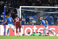 Dries Mertens of SSC Napoli celebrates after scoring the goal of 1-0 for his side<br /> Napoli 17-9-2019 Stadio San Paolo <br /> Football Champions League 2019/2020 <br /> SSC Napoli - Liverpool FC <br /> Photo Antonietta Baldassarre / Insidefoto
