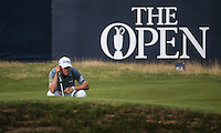 Bernd Wiesberger (AUT) completes Round One of the 145th Open Championship, played at Royal Troon Golf Club, Troon, Scotland. 14/07/2016. Picture: David Lloyd | Golffile.<br /> <br /> All photos usage must carry mandatory copyright credit (&copy; Golffile | David Lloyd)