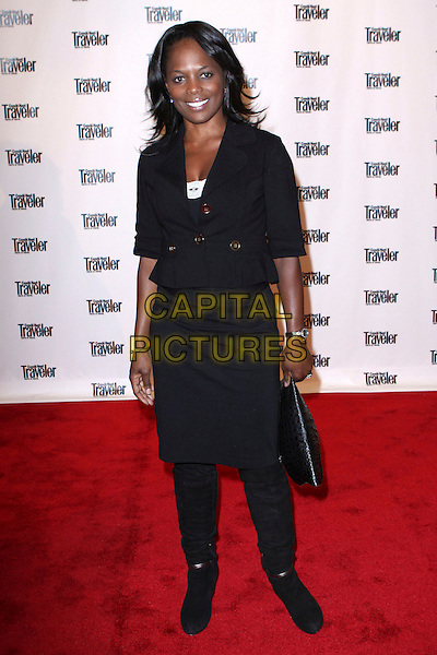 CATHERINE BREWTON.Conde Nast Traveler Hosts Reader's Choice Awards Truth in Travel Honoring the Best-Of-The-Best held at the New York Public Library, New York, NY, USA..October 15th, 2008.full length black skirt jacket bag .CAP/ADM/PZ.©Paul Zimmerman/AdMedia/Capital Pictures.