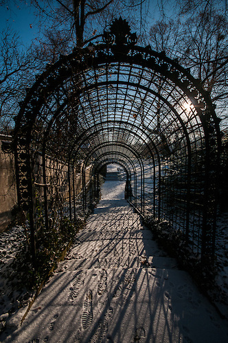 I decided to walk around where the spy bridge is at Patsdam, one cold December afternoon.