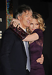 "HOLLYWOOD, CA - DECEMBER 05: Michelle Pfeiffer and David E. Kelley arrives at the Los Angeles premiere of ""New Year's Eve"" at Grauman's Chinese Theatre on December 5, 2011 in Hollywood, California."