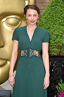 Jessica Ellerby at the BAFTA Television Craft Awards 2017 held at The Brewery, London, UK. <br /> 23 April  2017<br /> Picture: Steve Vas/Featureflash/SilverHub 0208 004 5359 sales@silverhubmedia.com