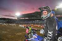 Jay Wilson (AUS)<br /> 2018 SX Open - Auckland / SX 1<br /> FIM Oceania Supercross Championships<br /> Mt Smart Stadium / Auckland NZ<br /> Saturday Nov 24th 2018<br /> © Sport the library/ Jeff Crow / AME