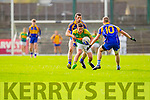 Conor O'Shea South Kerry in Action against  Kenmare in the County Senior Football Semi Final at Fitzgerald Stadium Killarney on Sunday.