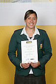 Rugby Union Girls Winner - Aroha Savage. ASB College Sport Young Sportsperson of the Year Awards 2006, held at Eden Park on Thursday 16th of November 2006.<br />
