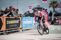 Jasper de Buyst (BEL/Lotto-Soudal)<br /> <br /> Stage 9 (ITT): Riccione to San Marino (34.7km)<br /> 102nd Giro d'Italia 2019<br /> <br /> ©kramon
