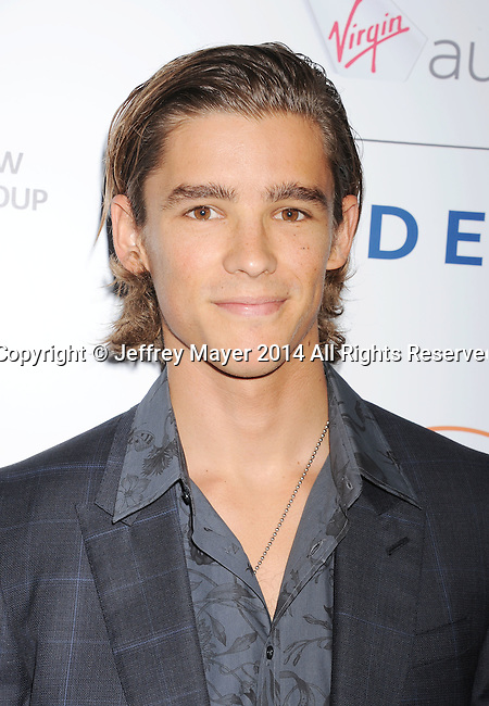 SANTA MONICA, CA- OCTOBER 26: Actor Brenton Thwaites attends the 3rd Annual Australians in Film Awards Benefit Gala at the Fairmont Miramar Hotel on October 26, 2014 in Santa Monica, California.