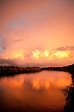 BRAZIL, Agua Boa, Agua Boa River, sunset deep in the Amazon jungle