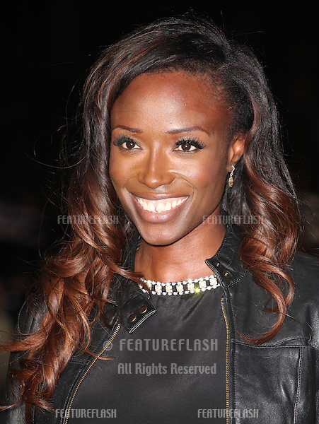 Lorraine Pascale arriving for the World Premiere of Gambit, at the Empire Leicester Square, London. 07/11/2012 Picture by: Alexandra Glen / Featureflash