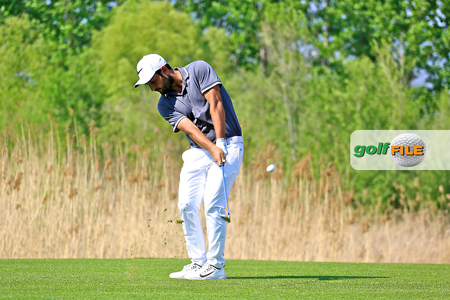 Alexander Levy (FRA) during the second round of the Volvo China Open played at Topwin Golf and Country Club, Huairou, Beijing, China 27- 30 April 2017.<br /> 28/04/2017.<br /> Picture: Golffile | Phil Inglis<br /> <br /> <br /> All photo usage must carry mandatory copyright credit (&copy; Golffile | Phil Inglis)