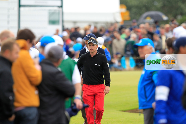 Luke Donald (ENG) walks to the 12th tee during Friday's Round 2 of the 141st Open Championship at Royal Lytham & St.Annes, England 20th July 2012 (Photo Eoin Clarke/www.golffile.ie)