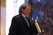 Attorney and United States Federal Election Commission member Don McGahn is seen in the lobby of Trump Tower in New York, NY, USA on January, 9, 2017. <br /> Credit: Albin Lohr-Jones / Pool via CNP