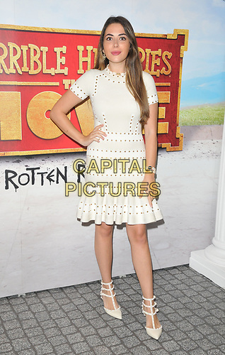 "Nurce Erben at the ""Horrible Histories: The Movie - Rotten Romans"" world film premiere, Odeon Luxe Leicester Square, Leicester Square, London, England, UK, on Sunday 07th July 2019.<br /> CAP/CAN<br /> ©CAN/Capital Pictures"
