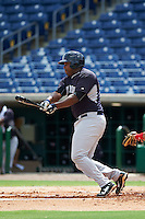 New York Yankees Chris Gittens (64) during an instructional league game against the Philadelphia Phillies on September 29, 2015 at Brighthouse Field in Clearwater, Florida.  (Mike Janes/Four Seam Images)