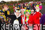 Gary Horan Trish Horan and Eileen Scanlon, pictured at the Santa 5k run which took place at Tralee Wetlands Centre on Sunday.