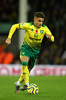 8th November 2019; Carrow Road, Norwich, Norfolk, England, English Premier League Football, Norwich versus Watford; Max Aaron of Norwich City - Strictly Editorial Use Only. No use with unauthorized audio, video, data, fixture lists, club/league logos or 'live' services. Online in-match use limited to 120 images, no video emulation. No use in betting, games or single club/league/player publications