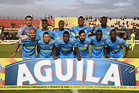 MONTERIA - COLOMBIA, 06-04-2018: Jaguares FC y Envigado FC en partido por la fecha 13 de la Liga Aguila I 2018 jugado en el estadio Municipal de Monteria. / Jaguares FC and Envigado FC in match for the date 13 of the Liga Aguila I 2018 at the Municipal de Monteria Stadium in Monteria city. Photo: VizzorImage / Andres Felipe Lopez / Cont