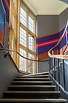 Staircase at Historic Quadrant Building at Sydney University, NSW, Australia