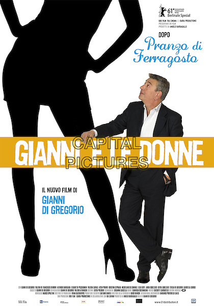 ORIGINAL ITALIAN POSTER ART.in The Salt of Life (Gianni e le donne).*Filmstill - Editorial Use Only*.CAP/FB.Supplied by Capital Pictures.